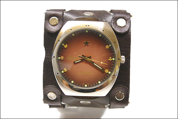 ハリウッドスターも愛用するLAブランド★deanの腕時計【 mw09_brown_bronze】