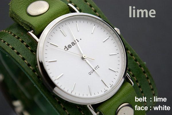 ハリウッドスターも愛用するLAブランド★deanの腕時計【ww03】